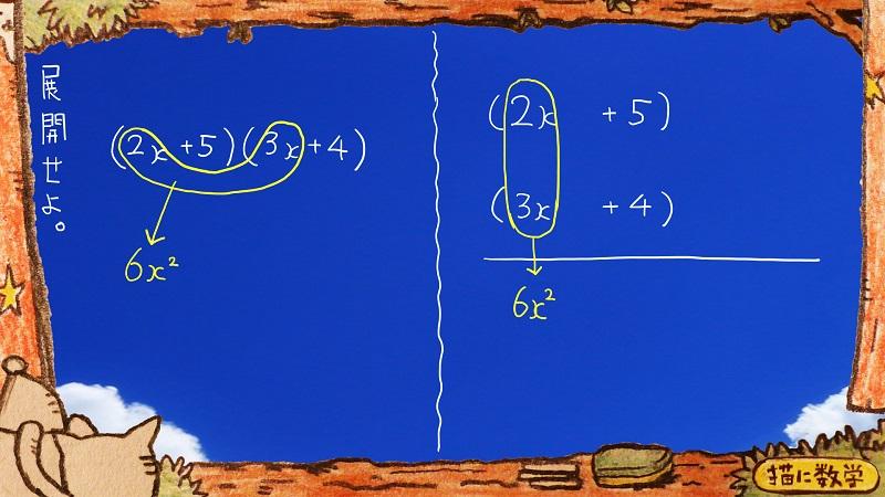 たすきがけ数学2