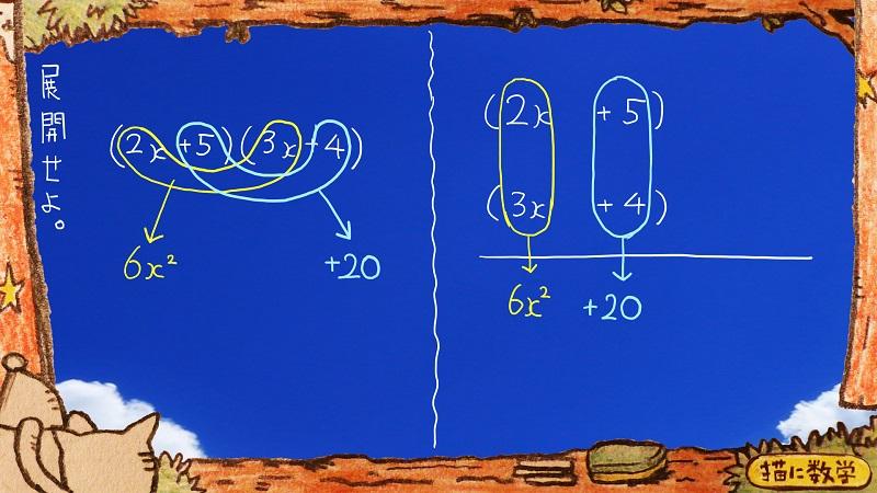 たすきがけ数学3