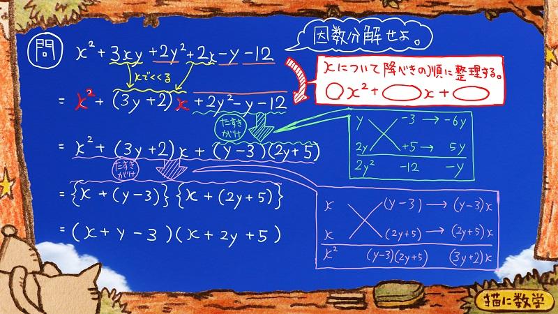 たすきがけ数学14